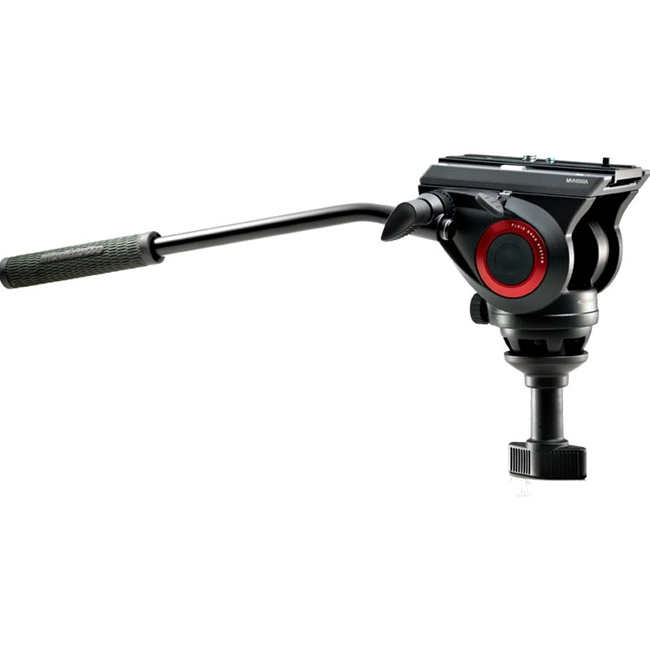 Manfrotto: MAN-MVH500A Lightweight Fluid Video Head - 60mm Half Ball (5kg payload)
