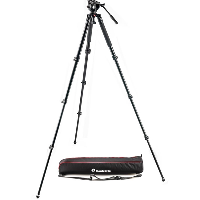 Manfrotto: MAN-MVK500AQ 500 Aluminum Single Leg Video System