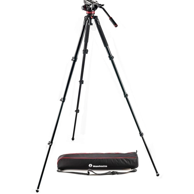 Manfrotto: MAN-MVK502AQ 502 Aluminum Single Leg Video System