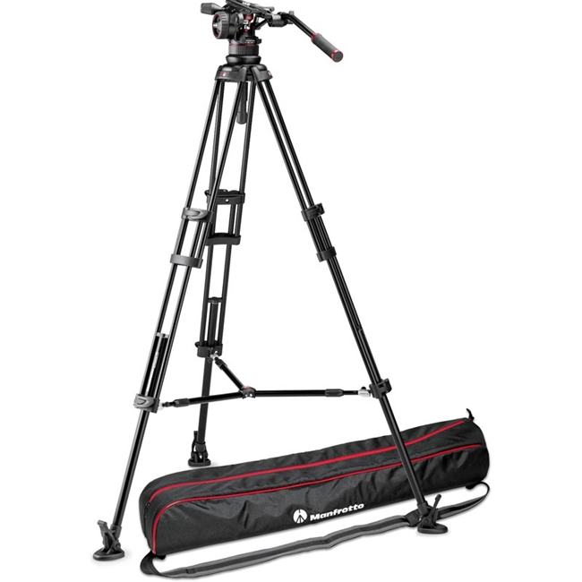 Manfrotto: MAN-MVKN12TWINM Nitrotech N12 | Twin Leg Tripod - Middle