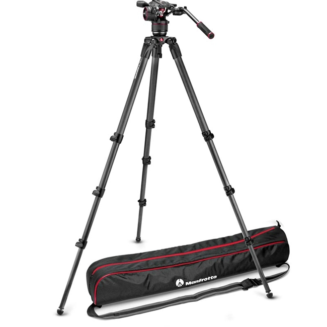 Manfrotto: MAN-MVKN8CTALL Nitrotech N8 Video Head | 536 Tripod