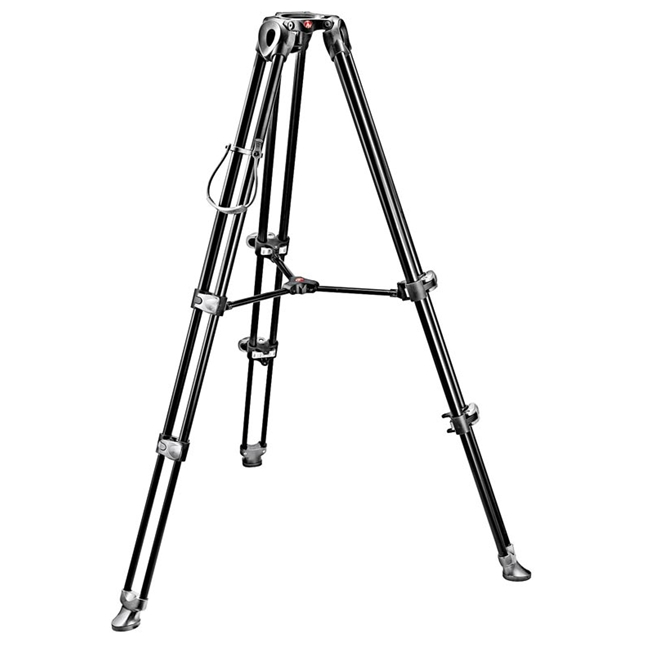 Manfrotto: MAN-MVT502AM MVH502A Fluid Head and MVT502AM Tripod with Carrying Bag