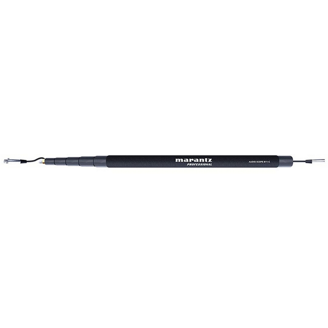 Marantz Audio Scope B11-C 5-Section 11-Foot Boom Pole with XLR Cable
