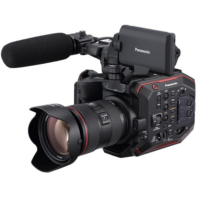 Panasonic: AU-EVA1 Compact 5.7K Super 35mm Cinema Camera (Body Only)