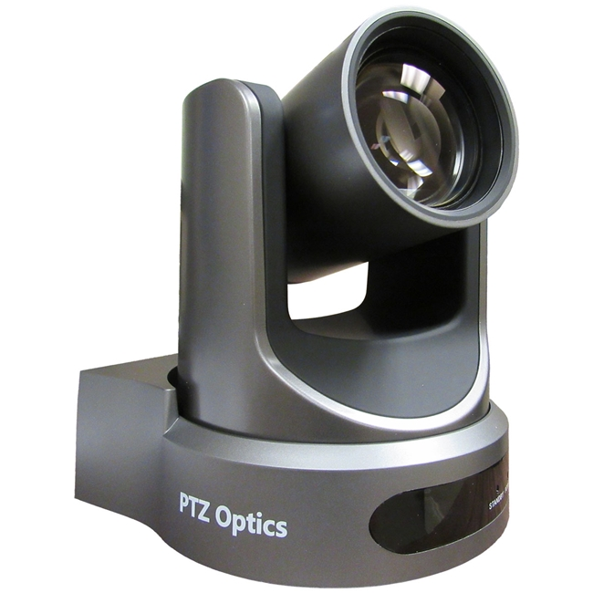 PTZ Optics: 12X-NDI-GY Camera