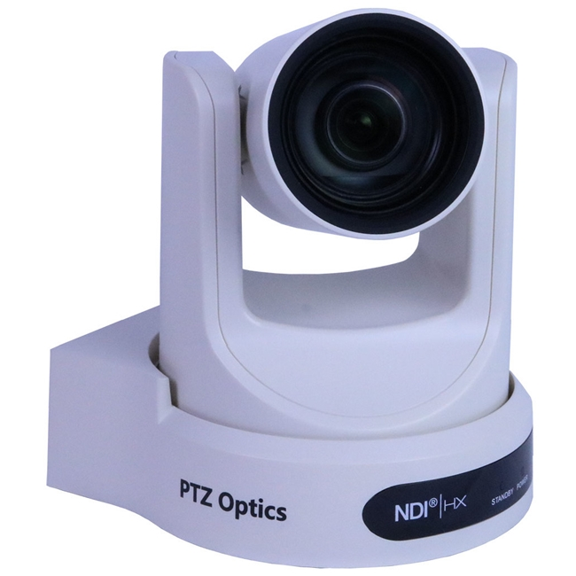 PTZ Optics: 30X-NDI-WH-G Camera