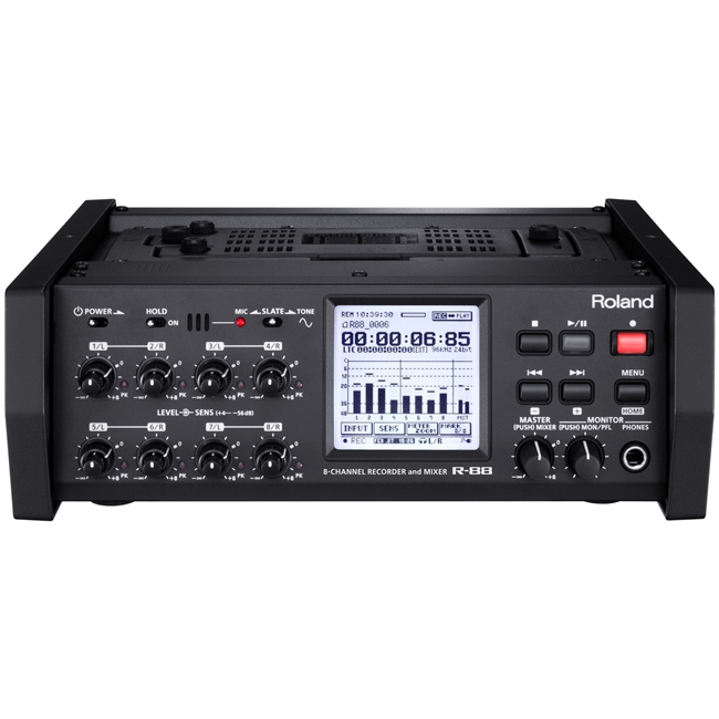 Roland: R-88 8 Channel Field Recorder