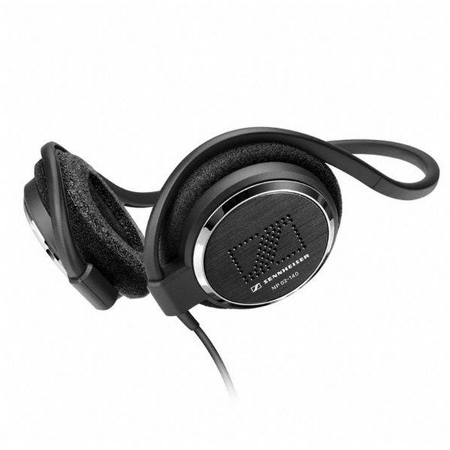 Sennheiser: A box of 20 x Stereo Neckband Headphones (32 Ohm 140cm Right Angle)
