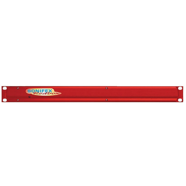 Sonifex: 1U Front Rack Kit For Small Redboxes (Black)
