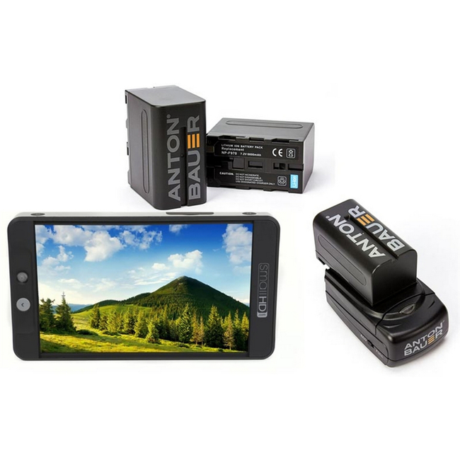 SmallHD 702 Bright Full HD Field Monitor + NPF Battery Kit