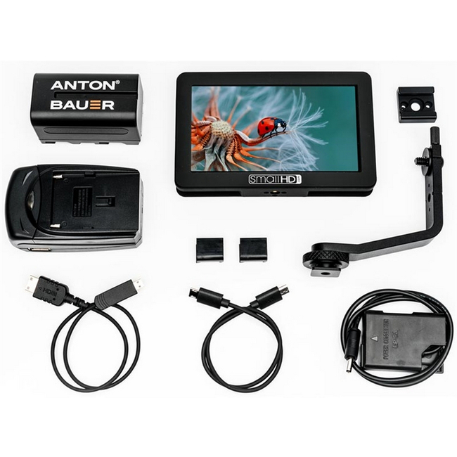 SmallHD: Focus Monitor Production Kit with Nikon EL14 Battery Eliminator