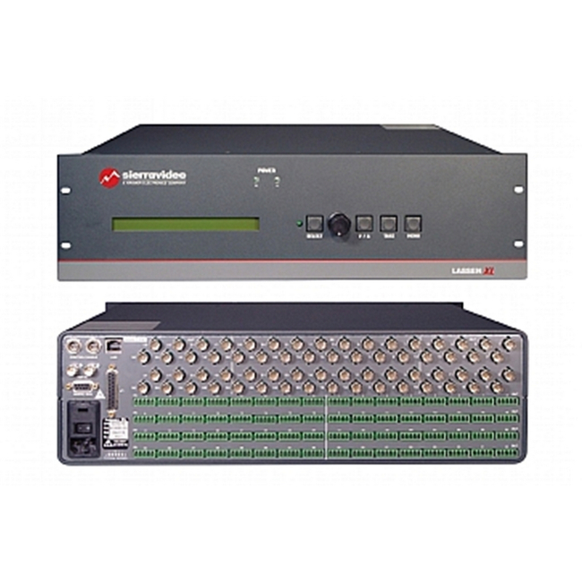 Sierra Video: 16x16 Balanced Stereo Analogue Audio Routing Switcher
