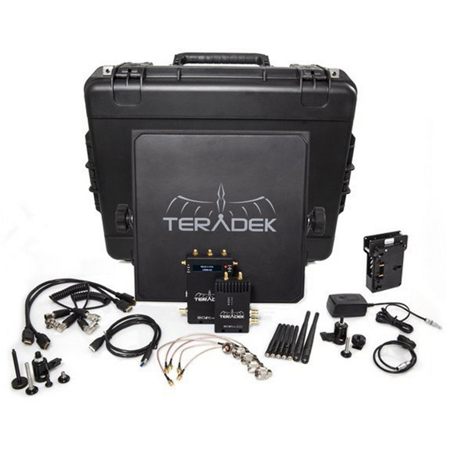 Teradek BOLT Pro 1000 HD-SDI / HDMI Wireless Video TX / RX Deluxe Kit with Gold Mount