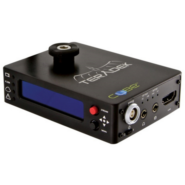 Teradek Cube-205 HDMI Encoder - OLED External USB Port and Ethernet