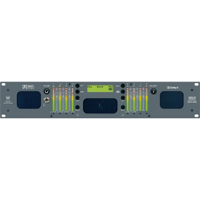 Wohler: 8 Channel, AES/Analog, Audio Monitor, Dolby D/E/DD+, 2RU