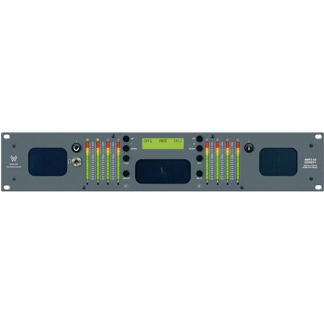 Wohler: 8 Channel, AES/Analog, Audio Monitor, 2RU