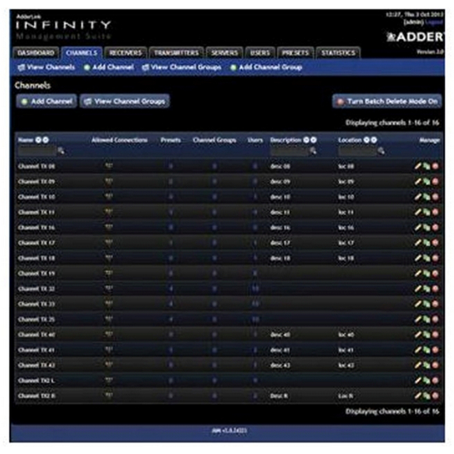 AdderLink Infinity AIM upgrade Licence 24 to 48 endpoints