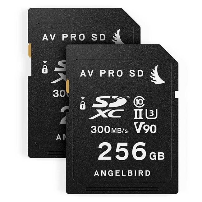 Angelbird Match Pack for Panasonic GH5/GH5S 256 GB | 2 PACK 2 x SD 256 GB cards