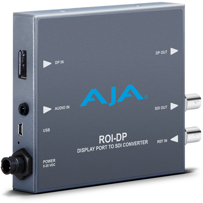 AJA: ROI-DP DisplayPort to SDI