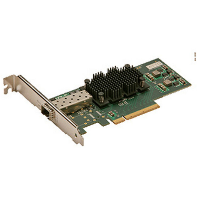 ATTO FastFrame™ Single Channel x8 PCIe 2.0 10GbE LC SFP+ SR Interface (low-profile)