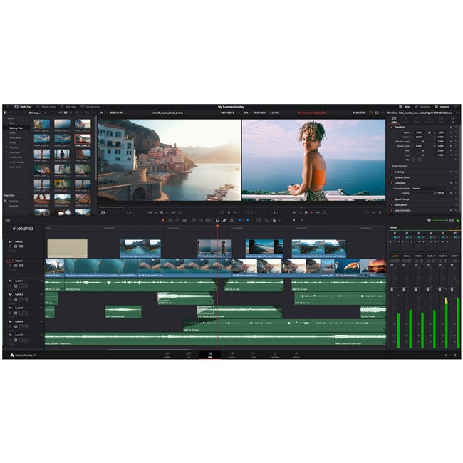 Buy Blackmagic Davinci Resolve 17 Studio Virtual Software Key