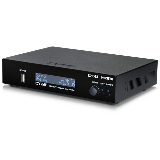 CYP: AU-A300-HBT HDBaseT™ 2 Channel Digital AV Receiver (Repeatable)
