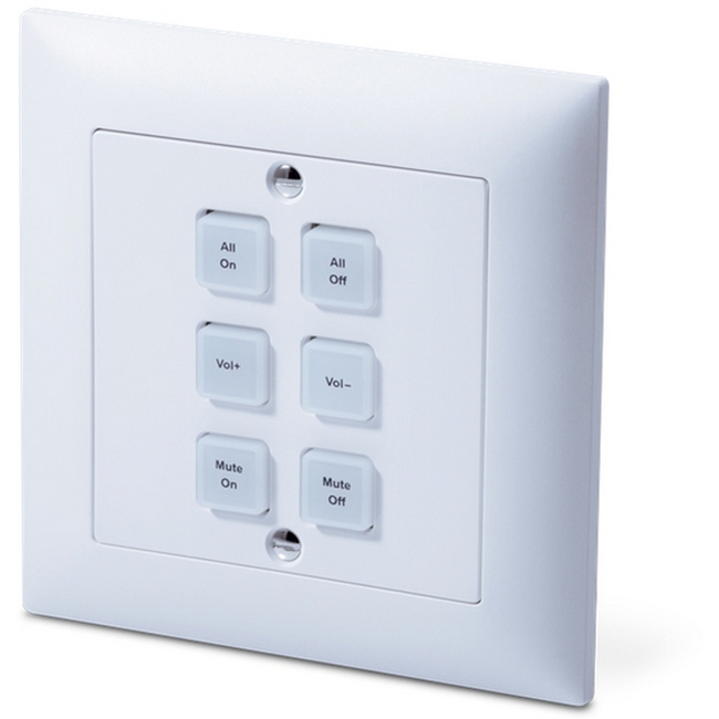 CYP: CR-KP3 9 Button Wall-mount Kepad Control System (EURO Single Gang)
