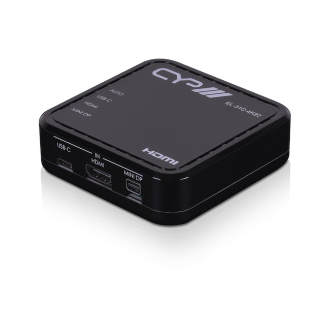 CYP: EL-31C-4K22 UHD+ Multi-Format to HDMI Output Switcher