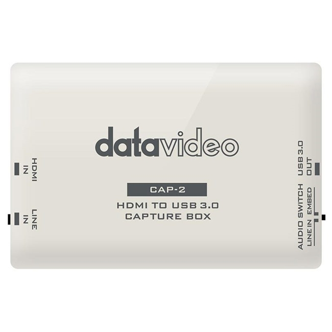 Datavideo HDMI to USB 3.0 Capture Box