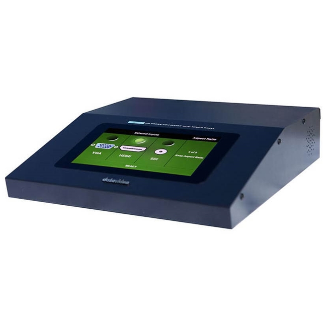 Datavideo DAC-75T Desktop Up / Down / Cross Converter with VGA and touch screen control.