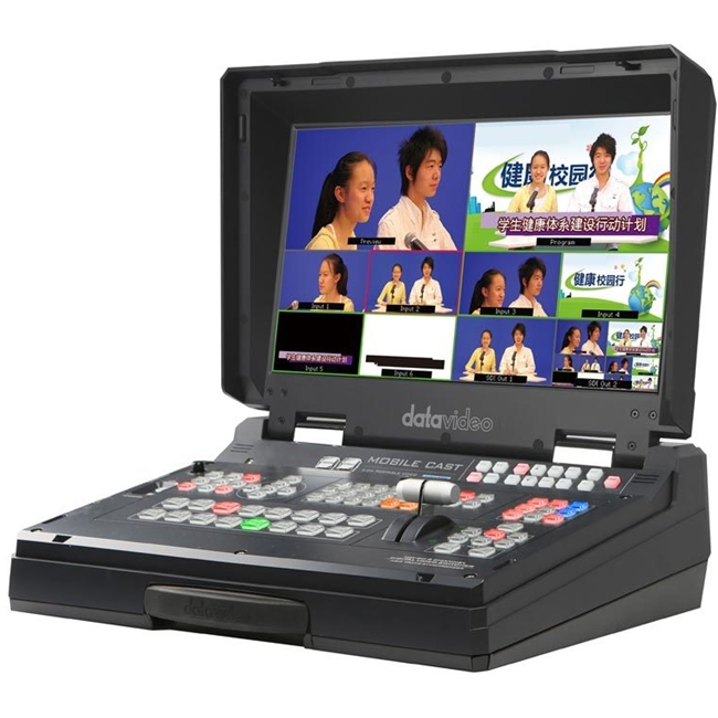 Datavideo HS-1300 6 Channel HD Portable Studio with built in Streaming Encoder/Recorder