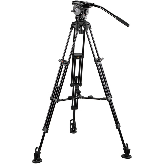 E-Image: GH06 Tripod Kit with GA752 and Adjustable Mid Spreader