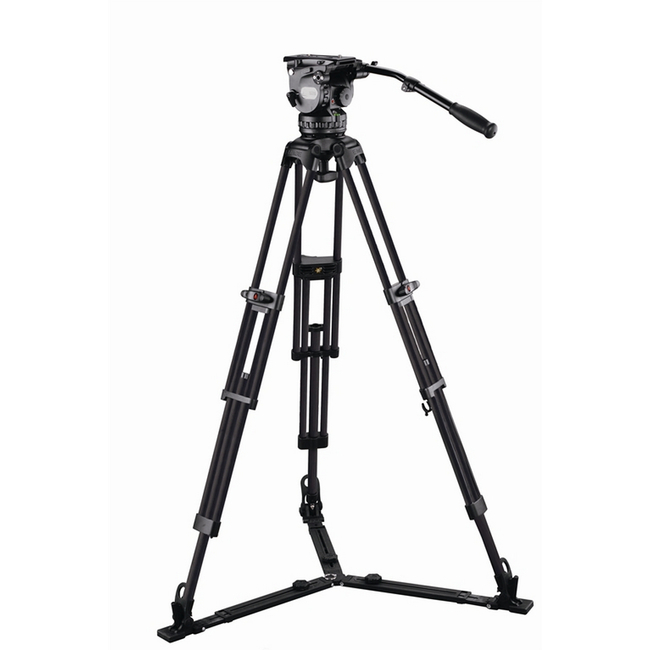 E-Image: GH15 Tripod Kit GC102 with Adjustable Mid and Floor Spreader (Carbon)