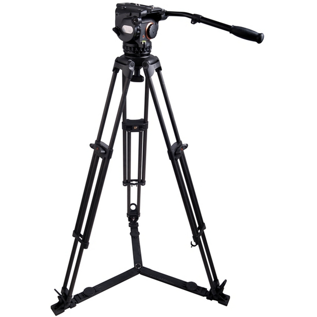 E-Image: GH25 Tripod Kit GC102 with Adjustable Mid and Floor Spreader