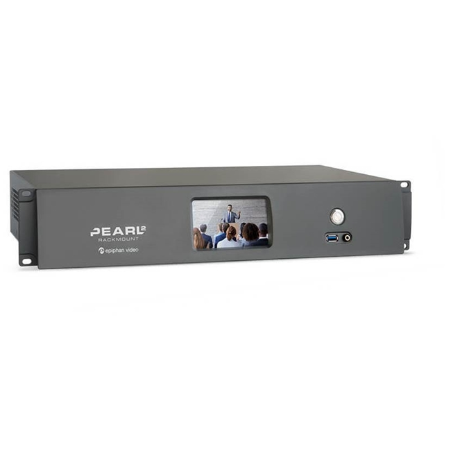 Epiphan Pearl 2 all-in-one rackmount 6 input video production system (2RU)