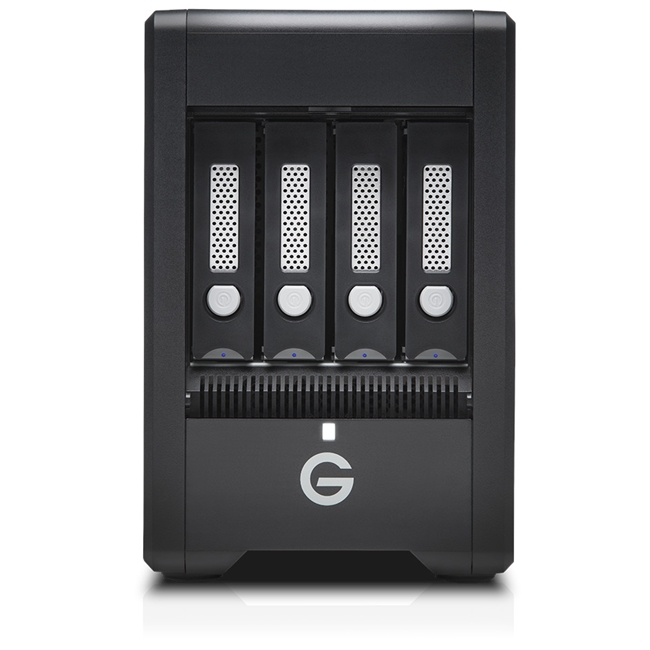 G-Technology G-SPEED Shuttle 4Bay Thunderbolt 3 48TB Black EMEA