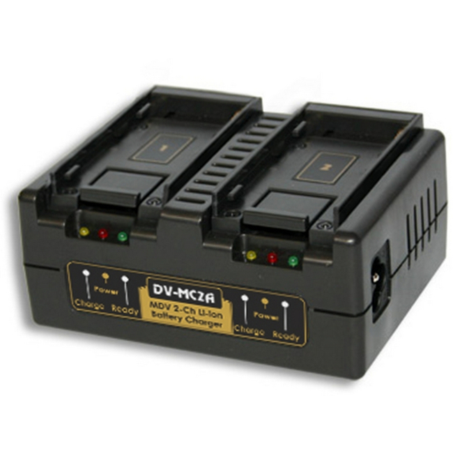 Hawk-woods: DV-MC2A  - Canon BP Battery Charger — 2-Channel Simultaneous