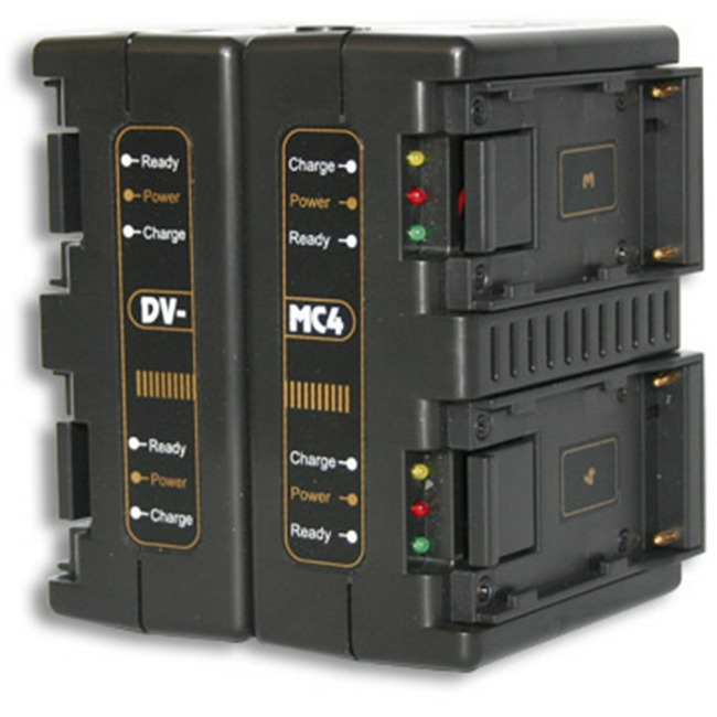 Hawk-woods: DV-MC4 - Sony NP-F Battery Charger — 4-Channel Simultaneous
