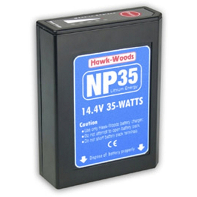 Hawk-woods: NP-35 - 14.4V 35Wh NP1 Lithium-Ion Battery