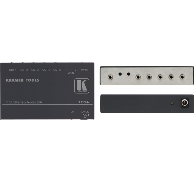 Kramer: 105A 1:5 St-Audio Distribution Amplifier