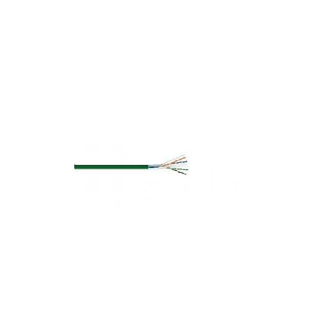 Kramer: CAT 6 F/UTP LSHF Bulk LAN cable - Green 500m