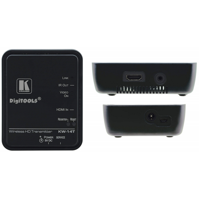 Kramer KW-14T: HDMI over wireless WHDI transmitter