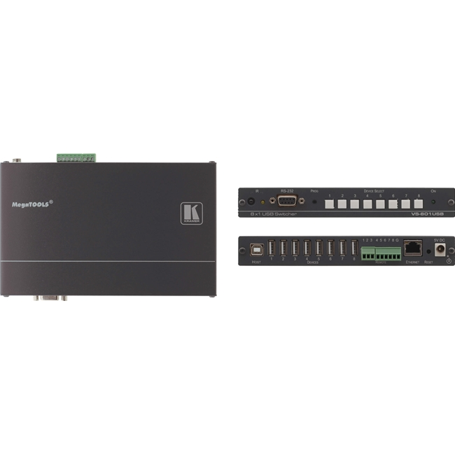 Kramer VS-801USB: 8x1 USB 2.0 Switcher