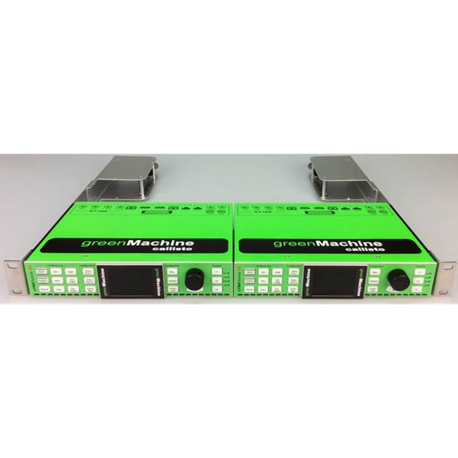 Lynx Technik: R-FR-6000 (yellobrik) Rack Mount Frame for 1 or 2 greenMachines (without power supplies)