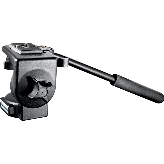 Manfrotto: MAN-128RC Micro Fluid Video Head w/QRCP