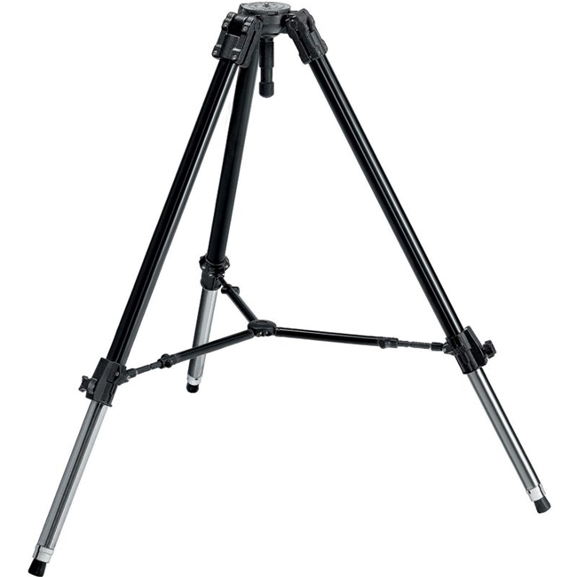 Manfrotto: MAN-528XB Stainless Steel Pro Video Heavy Duty Tripod