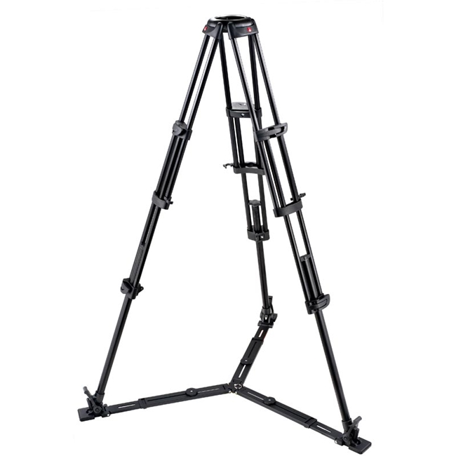 Manfrotto: MAN-545GB Pro Heavy-Duty Aluminium Video Tripod - Ground