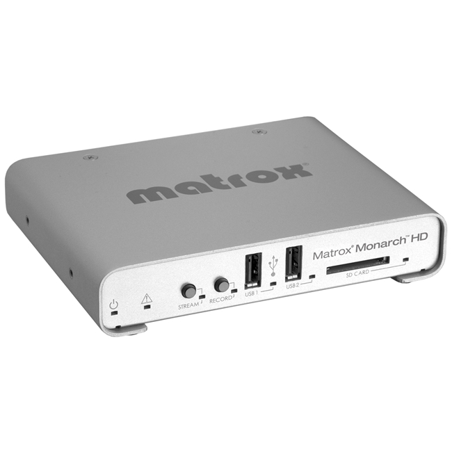 Matrox Monarch HD Professional Video Streaming and Recording Appliance (HDMI)