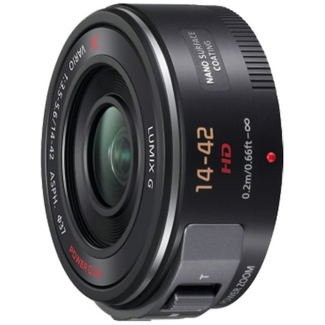 Panasonic: LUMIX G X Vario PZ 14-42mm / F3.5-5.6 ASPH. / POWER O.I.S Lens
