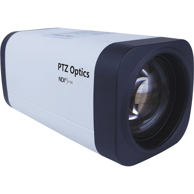 PTZ Optics ZCam 12X NDI|HX, HD-SDP, IP Network Camera